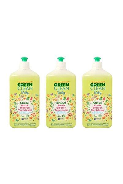 Green Clean Organik Portakal Yağlı Baby Biberon Emzik Temizleyici 500 ml - 3'lü set