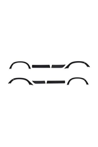 Omsa Dacia Duster Çamurluk Ve Kapı Dodik 12 Parça Abs Set (2018-)
