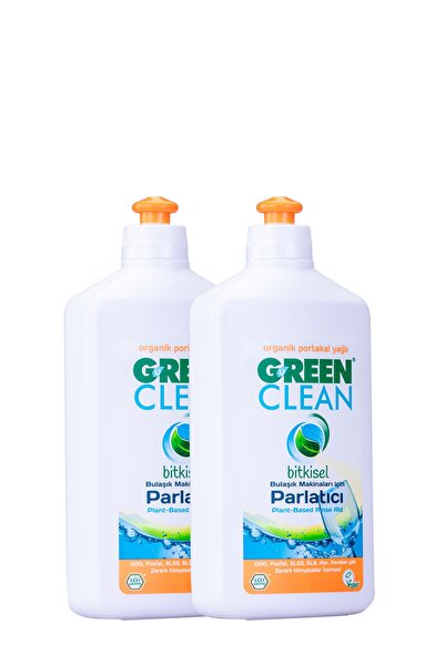 Green Clean BULAŞIK MAKİNESİ PARLATICI 500 ML. 2' Lİ SET