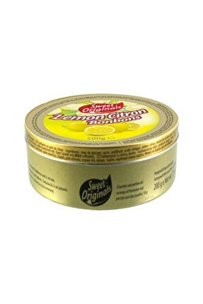 ORIGINALS Limon aromalı şekerleme 200g Metal kutu