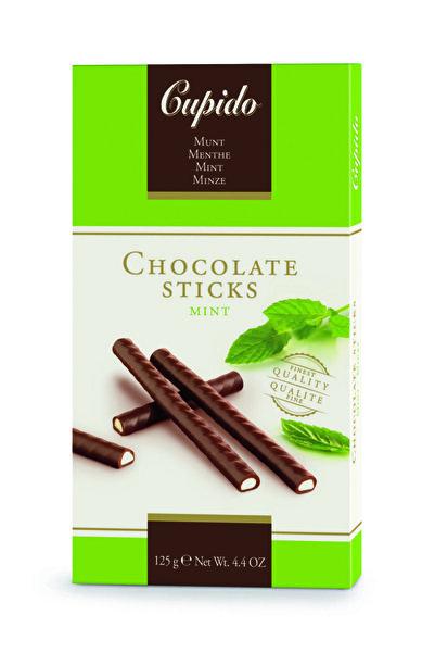 CUPIDO Naneli çikolata çubukları 125 gr