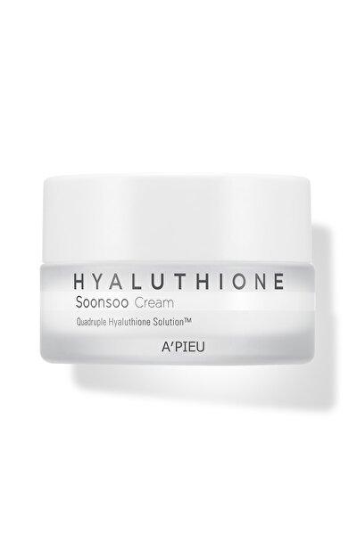 Missha 4 Çeşit Hyalüronik Asit İçeren nemlendirici Krem 50ml APIEU Hyaluthione Soonsoo Cream