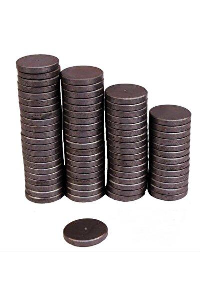 Dünya Magnet 100 Adet Yuvarlak Mıknatıs Çok Amaçlı Süsleme Mıknatısı 1.2 cm Magnet Mıknatısı Dolap Bebek Magnet