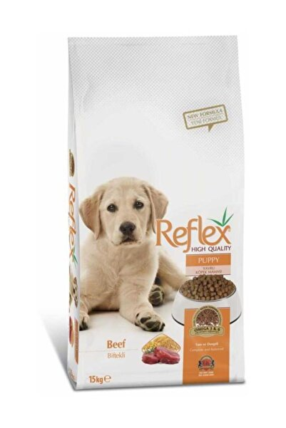 Reflex Puppy Biftekli Büyük Irk Yavru Kuru Köpek Maması 15 Kg
