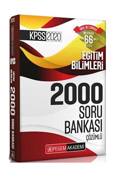 2020 KPSS Eğitim Bilimleri Çözümlü Efsane 2000 Soru Bankası - Kolektif