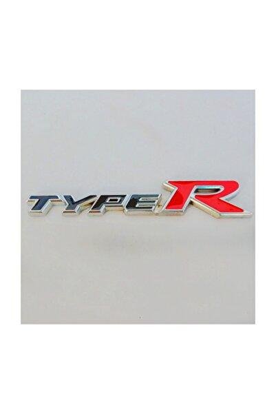 Şanlı Honda TypeR Plastik Logo Arma Sticker