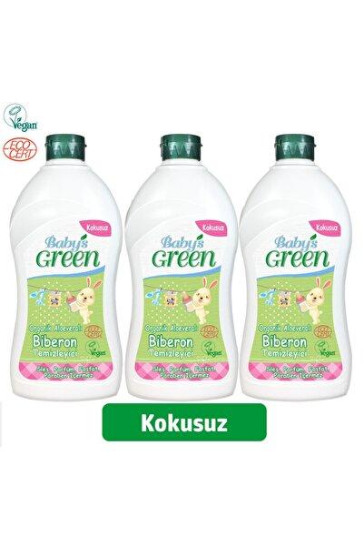 Baby's Green Organik Aloe Veralı Bebek Biberon ve Bulaşık Deterjanı  500 ml Set 3'lü