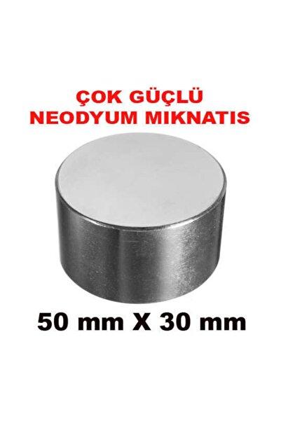 Dünya Magnet ÇOK GÜÇLÜ NEODYUM MIKNATIS 50mm x 30mm