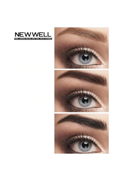 New Well Makeover Black Kaş Kirpik Boyası Siyah 15 ML