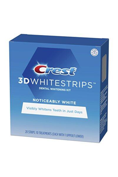 CREST 3D White Noticeably Whitestrips Diş Beyazlatma Bantı 10 paket 20bant