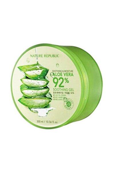 Nature Republic Soothing & Moisture Aloe Vera 92% Soothing Gel - Organik Aloe Yatıştırıcı Jel 300 ml 8806173420377