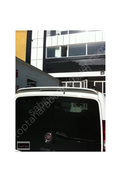 Universal Fiat Doblo Yeni Kasa Siyah Spoiler