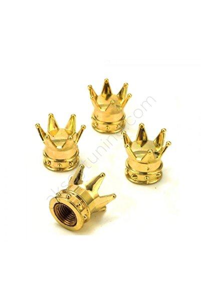 Universal Kral Tacı Sibop Kapagı Gold Renk