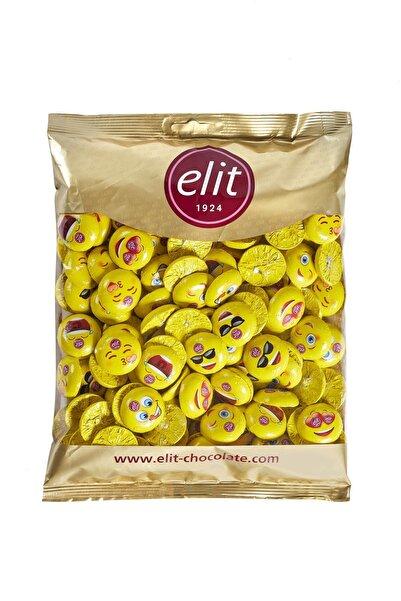 Elit Çikolata Mini Elitoloji Emoji Çikolata 1 Kg