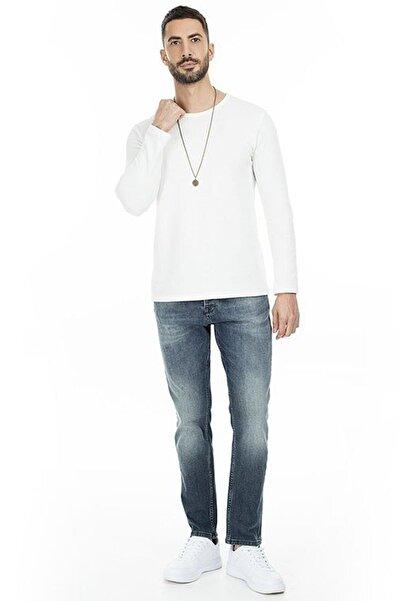 Five Pocket Erkek Mavi Kot Pantolon 7196g779artos