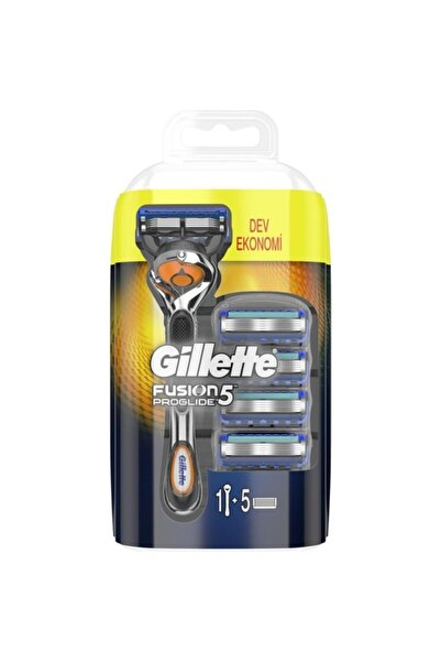 Fusion Flexball ProGlide Tıraş Makinesi + 5 Yedek Tıraş Bıçağı