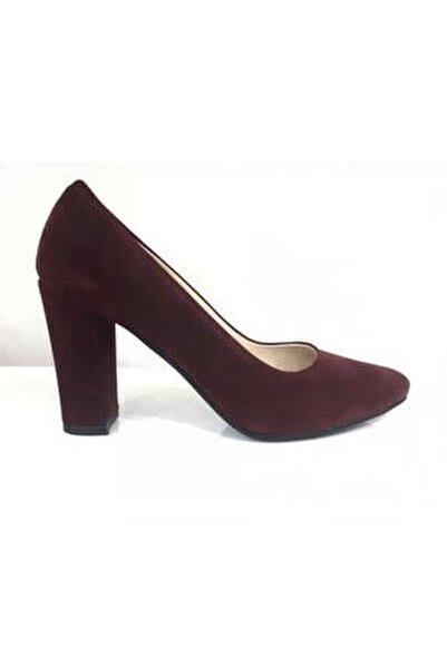 462003z Kalın Topuk Kadın Klasik Ayakkabı