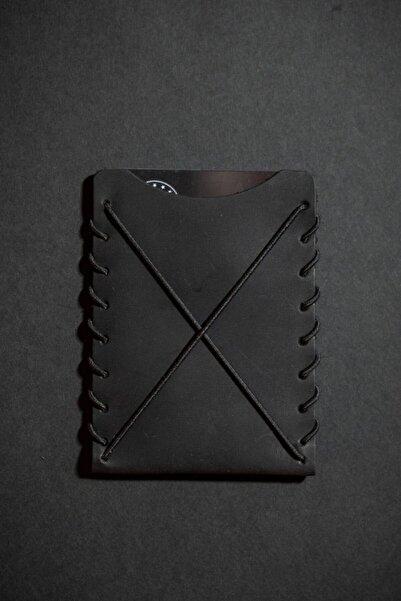 minimal X design Unisex Siyah Minimal X V1 Kartlık