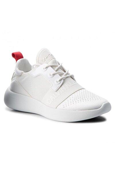 Calvin Klein Beyaz Spor Ayakkabı Re9809