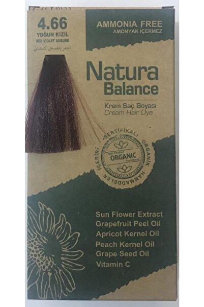 natura Balance Saç Boyası 4.66 Yoğun Kızıl