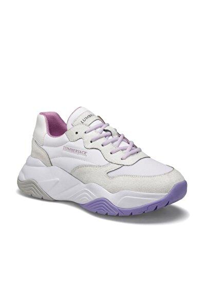 lumberjack Ecık Beyaz Kadın Sneaker Ayakkabı
