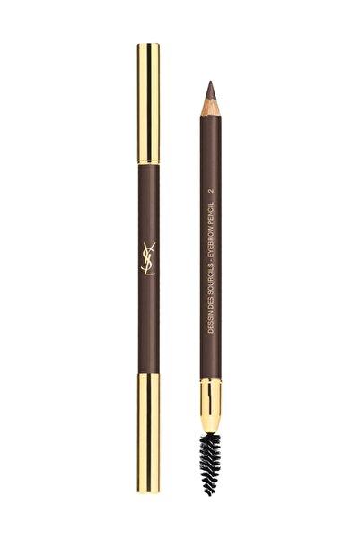 Yves Saint Laurent Dessin Des Sourcils Kaş Kalemi 2 - Deep Brown 3365440008366
