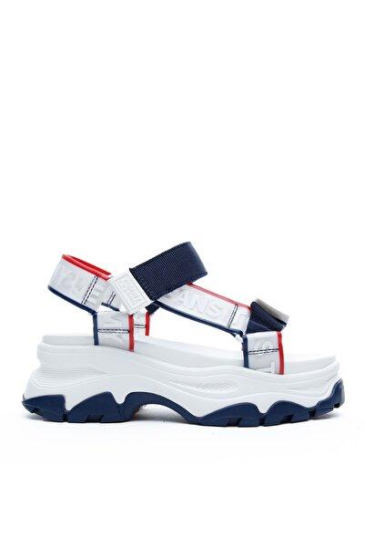 Tommy Hilfiger Pop Color Hybrid Kadın Lacivert Sandalet EN0EN00829 S