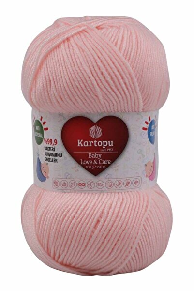 Kartopu Baby Love Care El Örgü Ipi 100 grK699