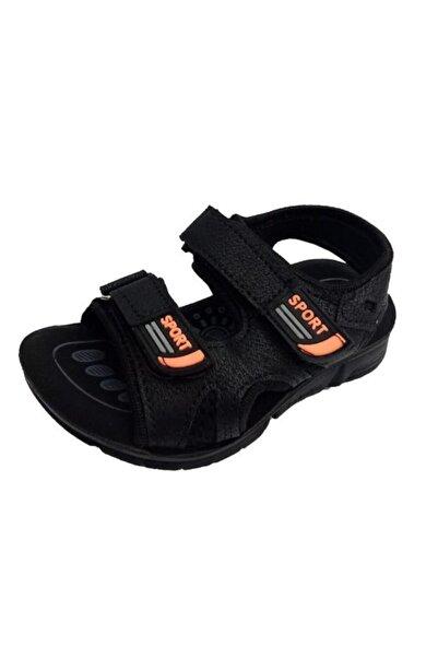 SOYLU Kız Çocuk Siyah Patik Ortopedik Suya Dayanıklı Sandalet 2034