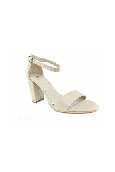 Mammamia Kadın Sandaleti Tek Bant Topuklu Ayakkabı