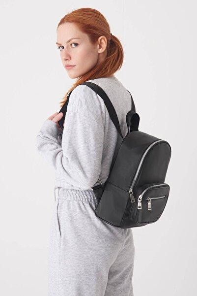 Addax Kadın Siyah Fermuar Detaylı Çanta Ç3231 - DK1 ADX-0000023162