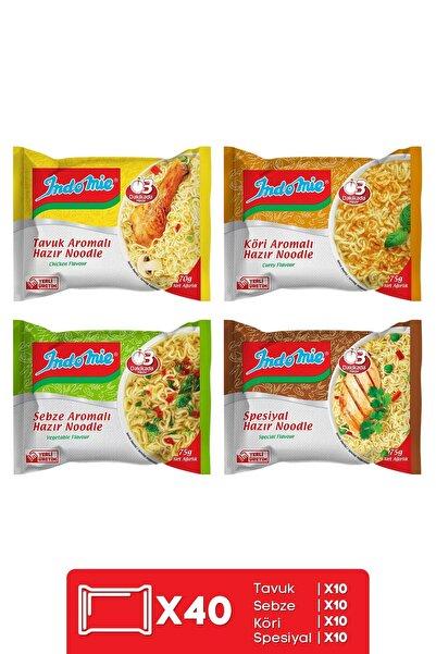 İndomie Indomie 40'lı Mix Pack Hazır Noodle Paket