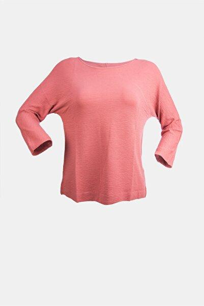 HTC Kadın Gül Kurusu Bluz