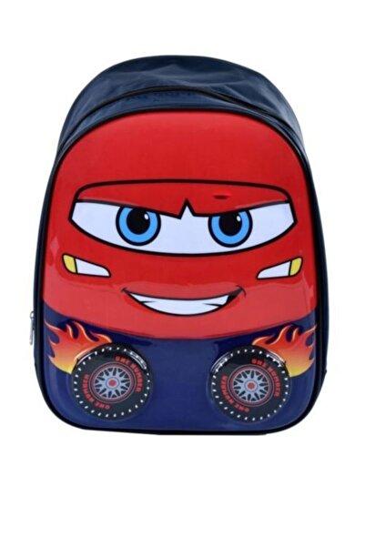 CARS Gülen Surat Arabalı Anaokulu Çantası - Kreş Çantası