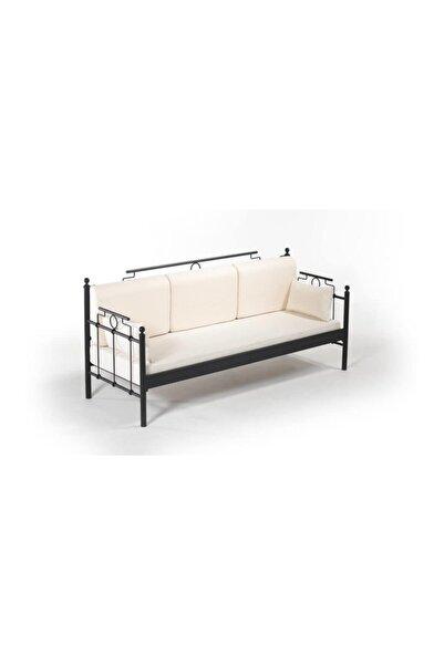 Vivense Hatkus Dk Metal Sofa Sedir