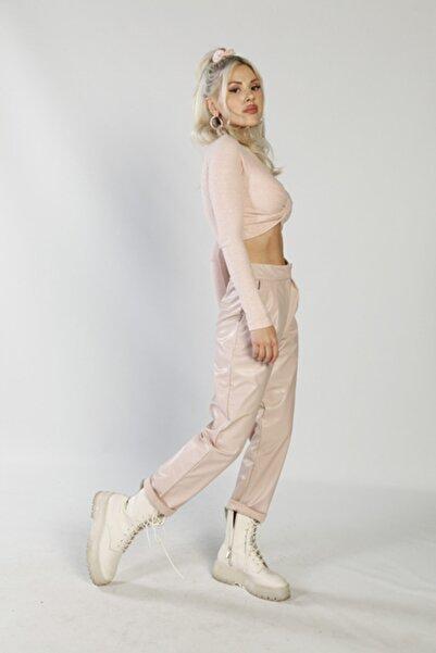 HOLLY LOLLY Kadın Pembe Pantolon