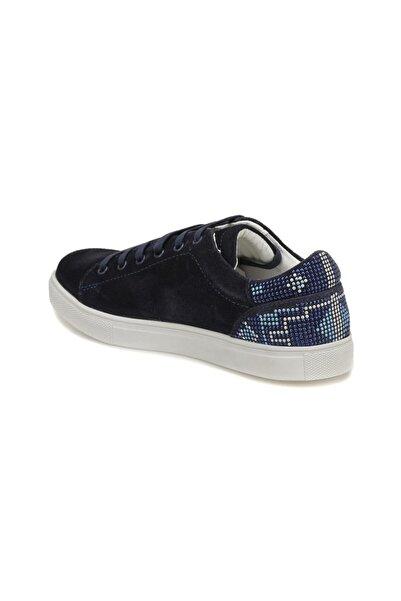 Mavi Kadın Lacivert Hakiki Deri Ayakkabı 000000000100296306