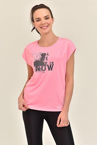 bilcee Pembe Kadın T-Shirt GS-8602
