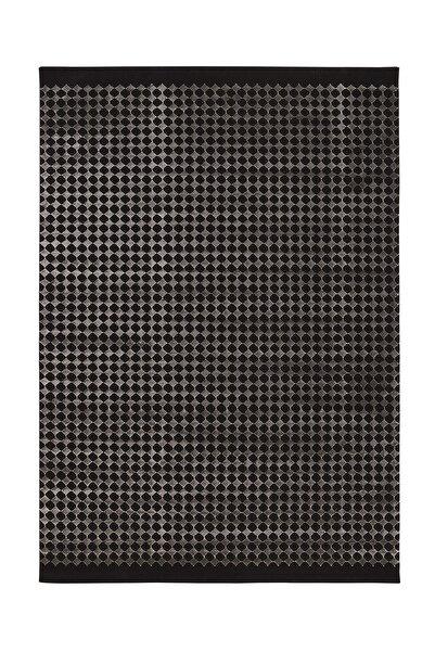 Enza Home Mate Halı - Siyah/gri