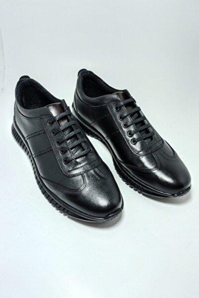 Masters Erkek Siyah Master Shoes Kışlık -Günlük Ayakkabı