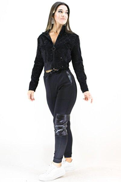 Erdem Kadın Siyah Hakim Yaka Ceket