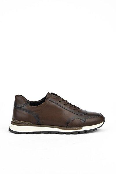 Ziya Erkek  Kahverengi  Deri Ayakkabı