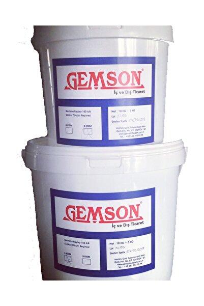 Gemson 1950 Gemson Epoksi Reçine 150 A/b Kalın Döküm (4 0,5KG)