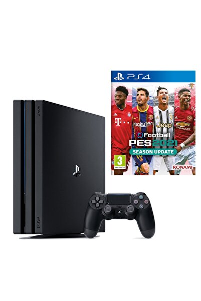 Sony Playstation 4 Pro 1 TB + PS4 Pes 2021