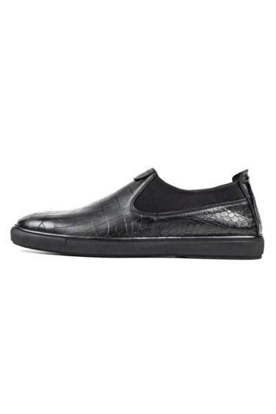 Riccardo Colli Rıccardo Colli M7702 Hakiki Deri Günlük Erkek Ayakkabı Siyah
