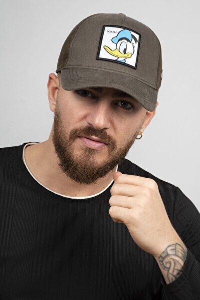 DeepSEA Erkek Haki Ördek Figürlü Ayarlanabilir Şapka 2008856