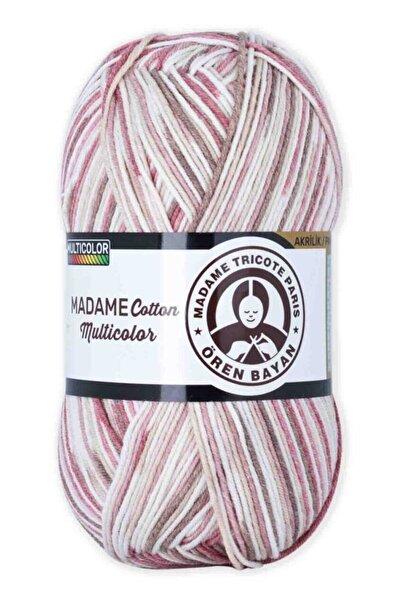 Ören Bayan Madame Cotton Multicolor El Örgü İpi 100 gr 446