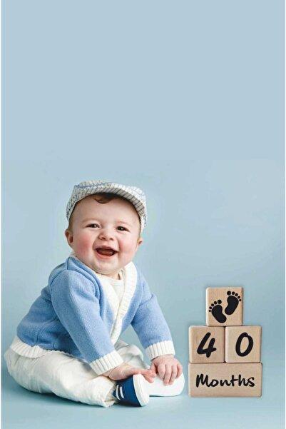 Babyroom Anne Bebek Ahşap Çekim Ve Dekor Anı Küpleri 4 Lü Kombin