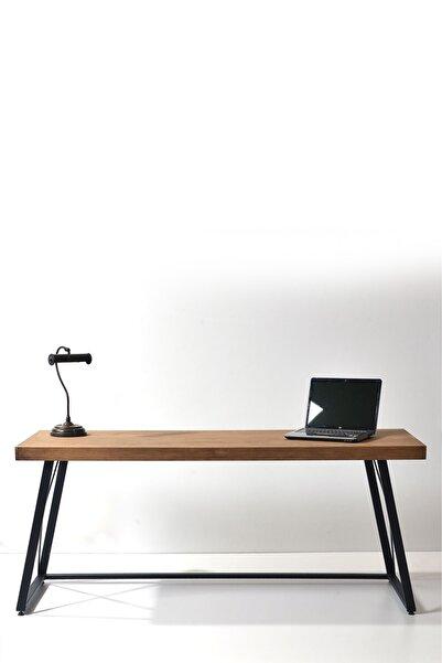 Ahşap Sokağı Pento Çalışma Masası 180cm