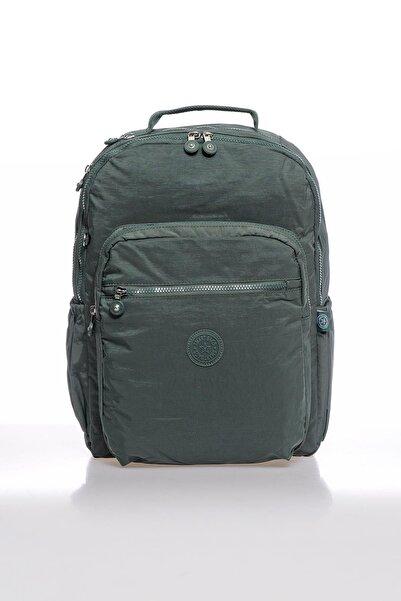 SMART BAGS Smbky1019-0005 Haki Kadın Sırt Çantası
